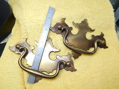 "5-""KB925"" Mixed Size vintage METAL CABINET DRAWER DRESSER HANDLE PULL KNOBS 8"