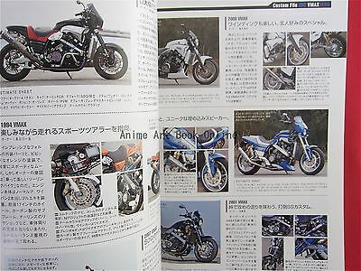 4 Of 6 Hyper Bike 41 YAMAHA VMAX Tuning Dress Up Guide Mechanical Book
