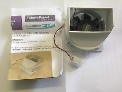 FISHER & PAYKEL  FRIDGE  FAN MOTOR  12volt E522 E521 E402 E406 E411 E413 821183P 3