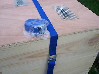 [UK] Beekeeping Economy Hive Securing Straps: 6 Pcs