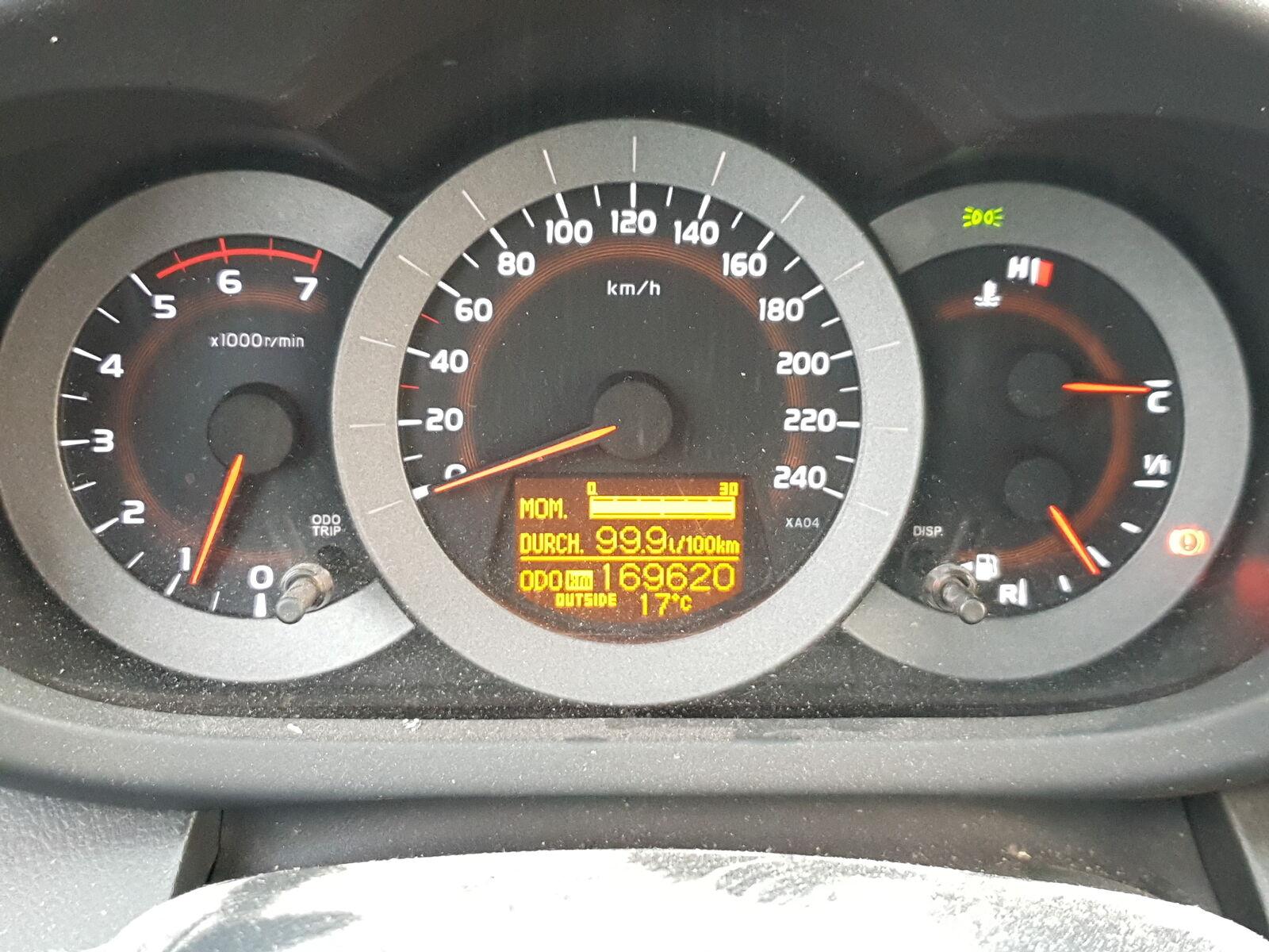 Zigarettenanzünder m. Buchse für Toyota RAV4 III CA30W 06-13 55449-42010