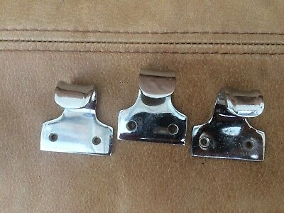 Set of 3 Chrome Sash Window Handles 2