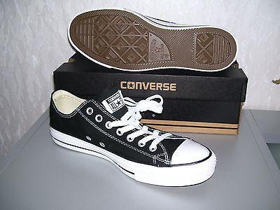 CONVERSE ALL STAR Chucks OX low schwarz black Kult 36 37 38