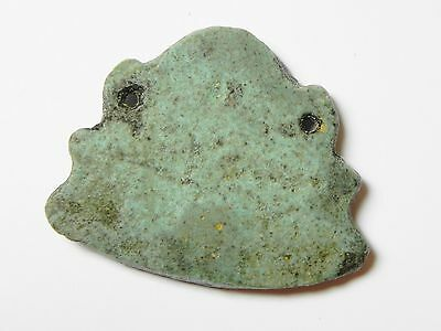Zurqieh -Af11- Ancient Egypt Beautiful Faience Pendant. 600 - 300 B.c 3