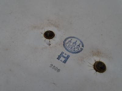 Q1896 Esmalte Fiambrera ~ Panera de Esmaltada ~ Decoración Rociadura ~ Um 1920 ~ 10