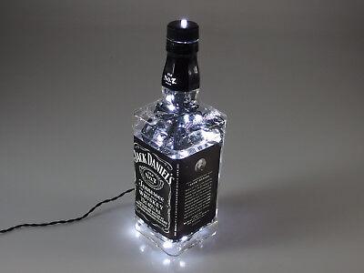 Jack Daniels - Flaschen Lampe mit 80 LEDs 220V Warm- UND Kalt-Weiß UMSCHALTBAR 8