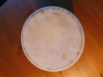 Apotheker Gefäß - Porzellan - Ungt.leniens -ca 17,5 x10cm 5