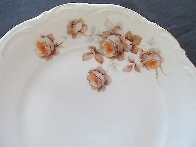 "MITTERTEICH BAVARIA GERMANY NORWAY ROSE 2 Salad PLATES 8/"""