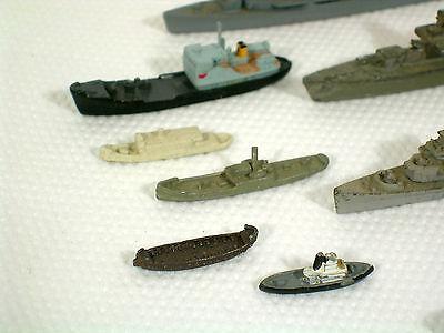Konvolut 15 Schiffe, U-Boote, Zerstörer,Guß 4