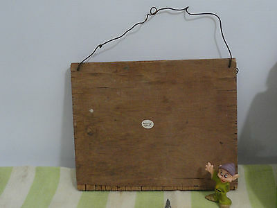 Collectible Trunk Find Kellogg's Rosters, Old Wooden Flag of Texas  Cannon Linen 5