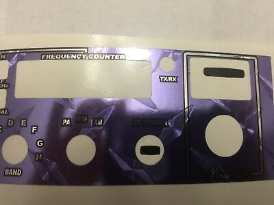 Mirage 6600 Radio Face Plate Decal