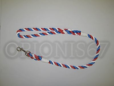 Extra Heavy Duty Dog Clip Lead 14 mm Rope Various Sizes & Colours Handmade 10