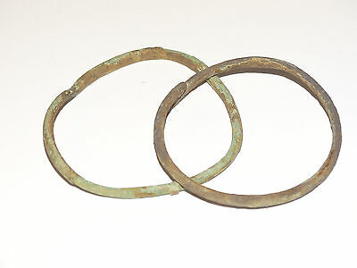 Perfect  Bronze Migration Period Bracelets.  The Nomads.Hunnu.  ca 3-6 AD. 4