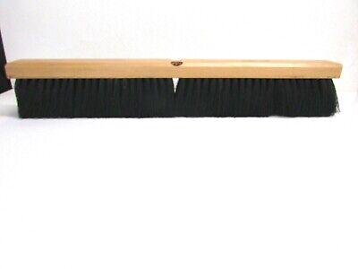 "Nos! 24"" Floor Brush Stiff Center, Fine Border Polypropylene Fibers 3"" Bristles 2"
