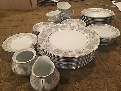 Norleans (china): francaise japan heloise. Made In JAPAN. Vintage. 42-piece Set. 4