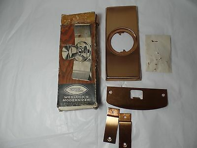 Vintage Western Weslock Modernizer Door Hardware New Old Stock 2