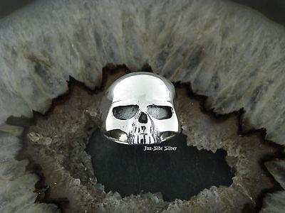Gothic Skull TOTENKOPFRING Skullring Totenkopf Silberring Schädel Silber 925