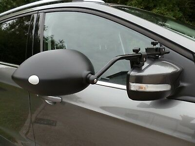 PAIR OF MILENCO AERO 3 TOWING MIRRORS FLAT GLASS WITH STORAGE BAG