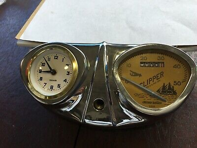 Bicycle Speedometer with Clock Stewart Warner cool accessory