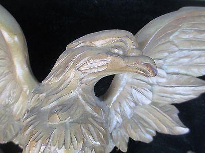 Antique Carved Wood Eagle FOLK ART 2