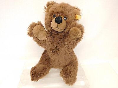 MES-58868Steiff Teddy-Bär,L. ca. 35 cm,weichgestopft,mit Knopf und Fahne 2