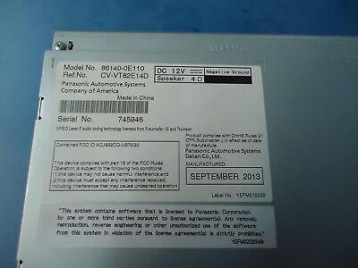 Toyota Highlander New Gps Navigation System 86140-0E110, Ref.#cv-Vt82E14D Dc 12V