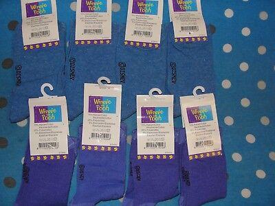 Winnie The Pooh Disney Socks - 8 Pair - Size Eur 27/30 Uk 9 - 12 3