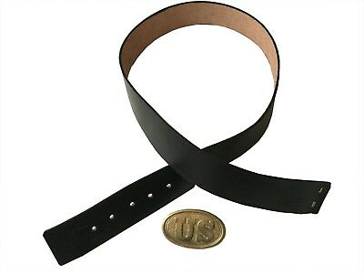 Us Civil War Vest Belt With Brass Buckle 2