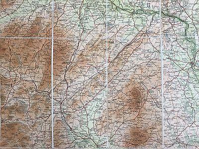 """Barthomew's New Reduced Survey for Tourists & Cyclists""(Shropshire)-circa1900 8"