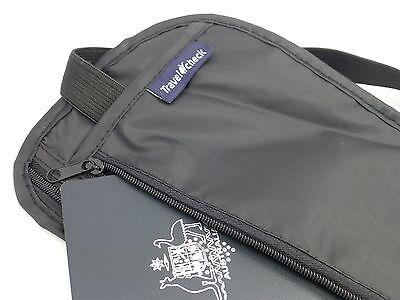 Travel Pouch Security Tips Travel Passport Secret Waist Belt Bag Secure Wallet 5