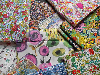 TANA LAWN REMNANT SALE LIST 1 CRAFT SEWING QUILTING-OFF CUTS LIBERTY FABRIC