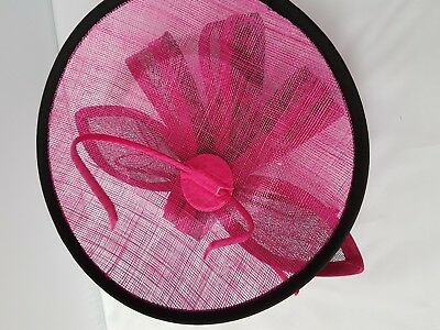 New Large Headband and Clip Hat Fascinator Weddings Ladies Day Race Royal Ascot 2