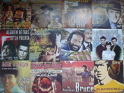 Lote De 100 Dvd Clasicos Cine Español,Accion,Oeste,Clasicos,(Nuevos Estuche) 7