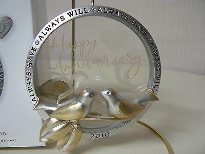 Anniversary Celebration QGO1166 Hallmark 2014 Keepsake Ornament