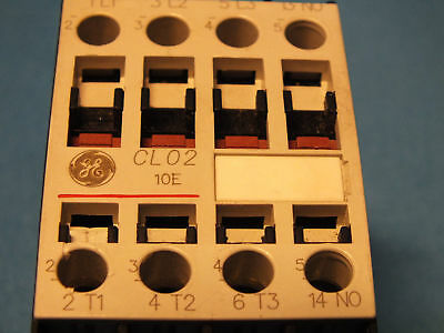 GE General electric CL02A310T Mod.1 Ith=32A Ui=1000Vcoil-220-230V//50Hz-277V//60Hz