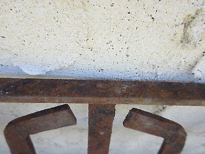 Antique Victorian Iron Gate Window Garden Fence Architectural Salvage Door #385 5