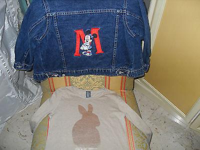 Giubbino jeans Disney e T.Shirt ZARA bimba anni 5/6. 4