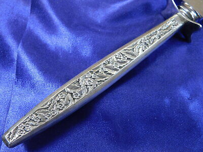 International Valencia Sterling Silver Bread Knife - Very Good Condition S 2