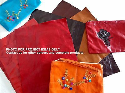 Brand New Genuine Leather Scraps Pieces Off Cuts For Crafts