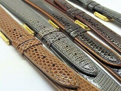 Cinturini stampa lucertola filettata piatti ansa 16 18 o 20 mm  watch strap 2