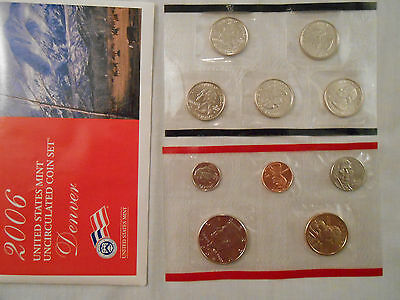 Coins:Collection: 2006 US Mint Uncirculated Coins: 2 Sets :Philadelphia/Denver 11
