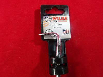 "Wilde Tool 12"" Inch Cotter Key Split Pin Extractor MADE IN USA Alloy Steel6"