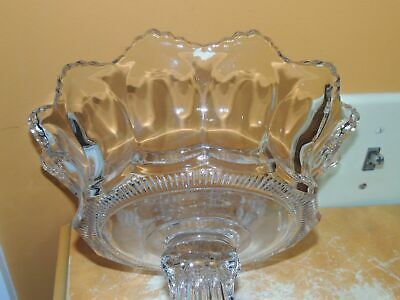 Heisey Colonial stemmed signed compote 8 12