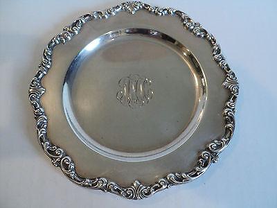"Vintage Gorham Sterling Silver 6"" Bread & Butter Plate #A1126 2"