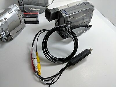 Canon Camcorder for 8mm Hi8 MiniDV Tape Transfer to Computer USB Capture Device 5