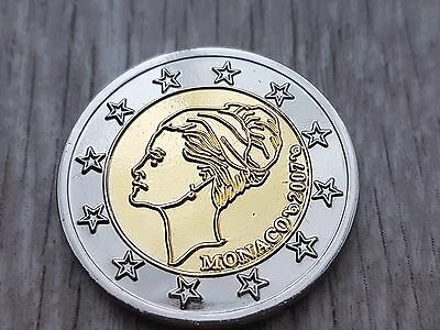 2 Euro Monaco Grace Kelly 2007 - Probe Essai Trial !! 3