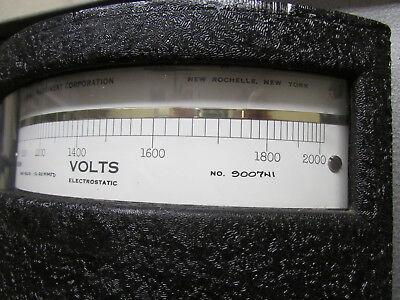 Electrostatic Voltmeter ESH KiloVolts Sensitive Research 0-2kV In Carrying Case 4