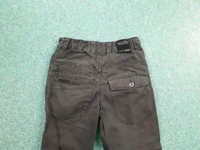 "Next Twisted Jeans Waist 28"" Leg 24"" Black Faded Boys 11Yrs Jeans 4"