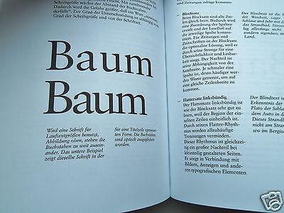 Buchdruck Grafik - 2x Universalgeschichte der Schrift Zeitschriftenlayout (6) 3