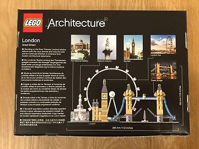 Lego Architecture London Skyline 21034 Signed By Designer 2
